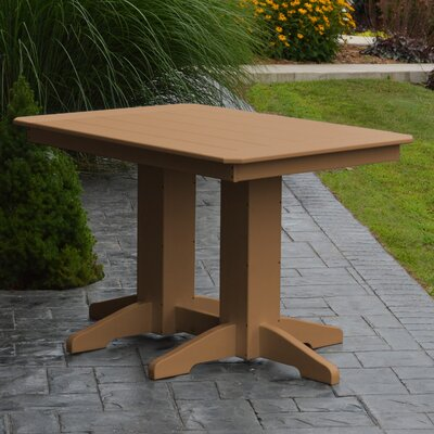 Nettie Dining Table Color: Cedar, Table Size: 72 L x 33 W