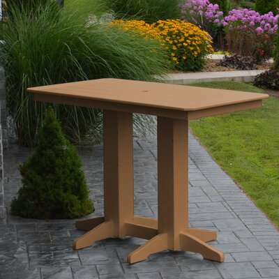 Nettie DiningTable Color: Cedar