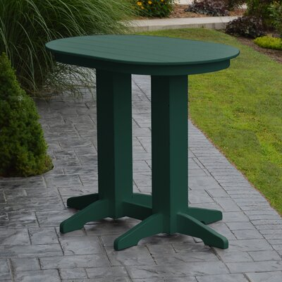Nettie Bar Table Color: Turf Green