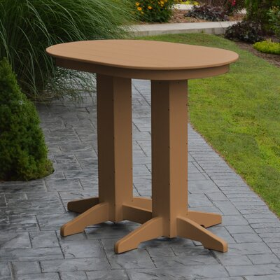 Nettie Bar Table Color: Cedar