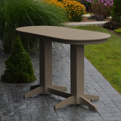 Nettie DiningTable Color: Weathered Wood, Table Size: 72 L x 33 W