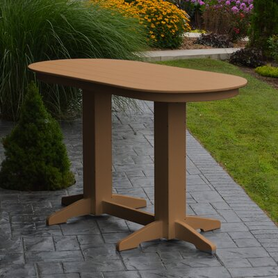 Nettie DiningTable Color: Cedar, Table Size: 60 L x 33 W