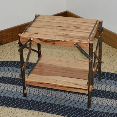 Hickory End Table Finish: Rustic Hickory