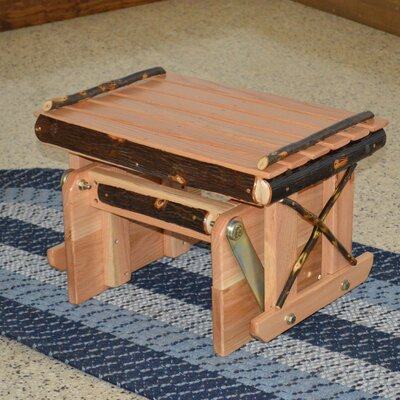 Hickory Ottoman Upholstery: Natural