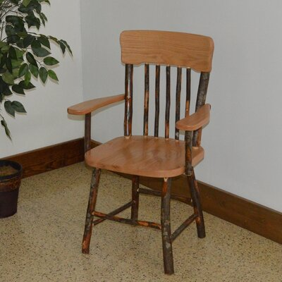 Hickory Solid Wood Dining Chair Color: Natural