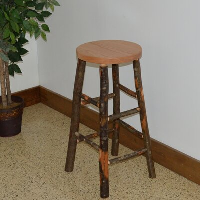 Hickory 30 Bar Stool Color: Natural