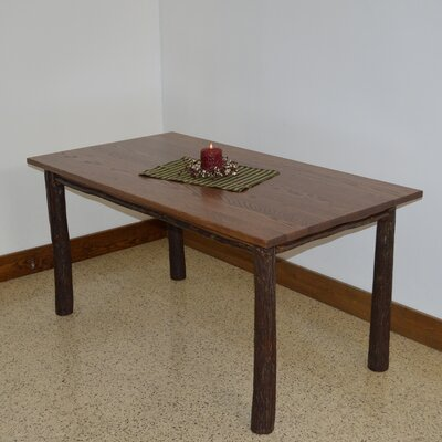 Hickory Dining Table Color: Walnut
