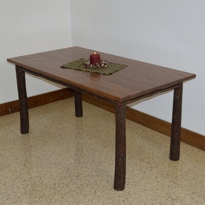 Hickory Dining Table Finish: Walnut