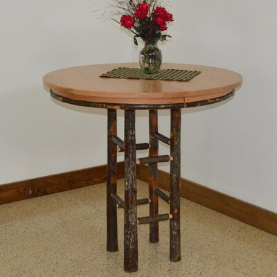 Hickory Pub Table Finish: Natural