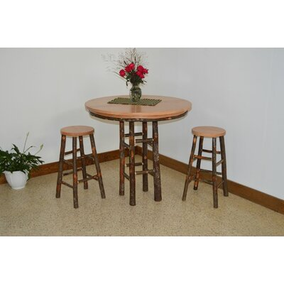 Hickory 3 Piece Dining Set