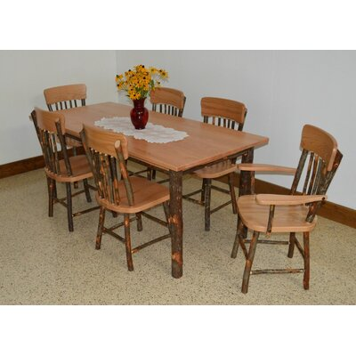 Hickory 7 Piece Dining Set