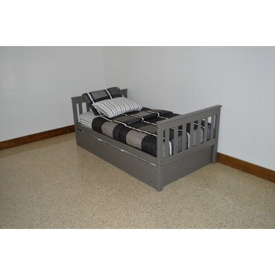 Mission Bed Bed Frame Color: Olive Gray, Size: Full Mission Bed