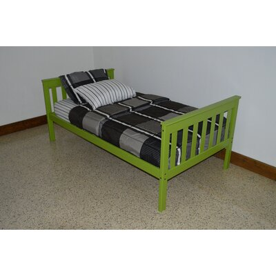 Mission Bed Bed Frame Color: Lime, Size: Full Mission Bed
