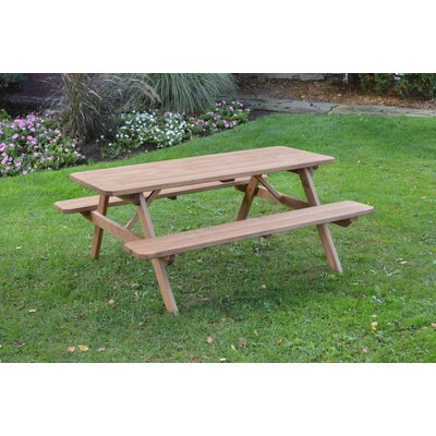 Summit Pine Picnic Table Finish: Oak Stain