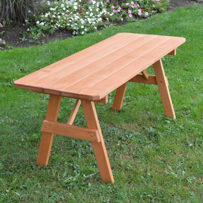 Stanford Pine Picnic Table Finish: Cedar Stain