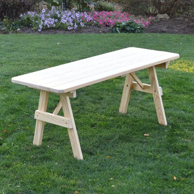 Sirretta Pine Picnic Table Finish: Unfinished