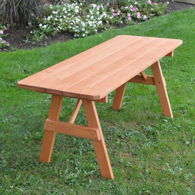Varick Pine Picnic Table Finish: Cedar Stain