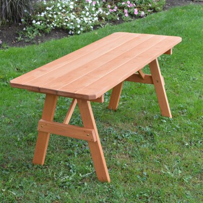 Scipio Pine Picnic Table Finish: Cedar Stain