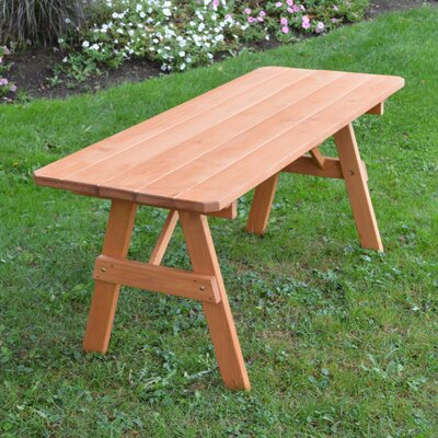 Stony Creek Pine Picnic Table Finish: Cedar Stain