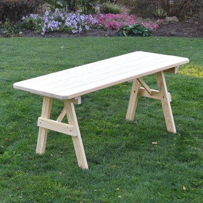 Stony Creek Pine Picnic Table Finish: Unfinished