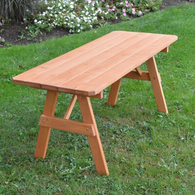 Piegan Pine Picnic Table Finish: Cedar Stain