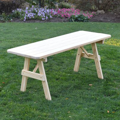 Sardinia Pine Picnic Table Finish: Unfinished