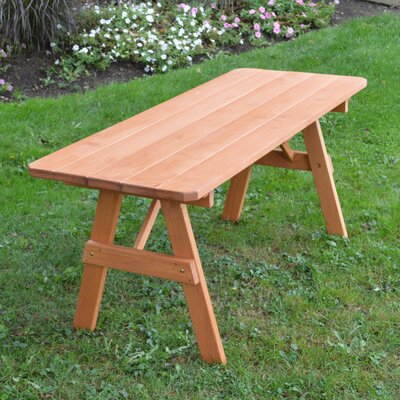 Sardinia Pine Picnic Table Finish: Cedar Stain