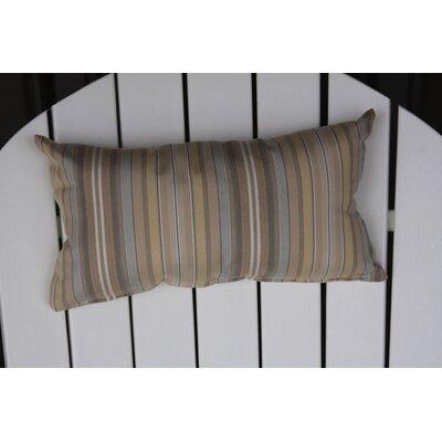 Adirondack Chair Outdoor Lumbar Pillow Color: Beige