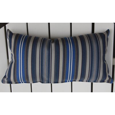 Hyeon Outdoor Lumbar Pillow Color: Blue