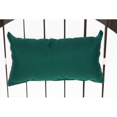Lamothe Rectangular Adirondack Chair Outdoor Lumbar Pillow Color: Forect Green