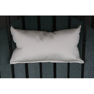 Lamothe Rectangular Adirondack Chair Outdoor Lumbar Pillow Color: Gray