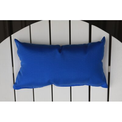 Lamothe Rectangular Adirondack Chair Outdoor Lumbar Pillow Color: Light Blue