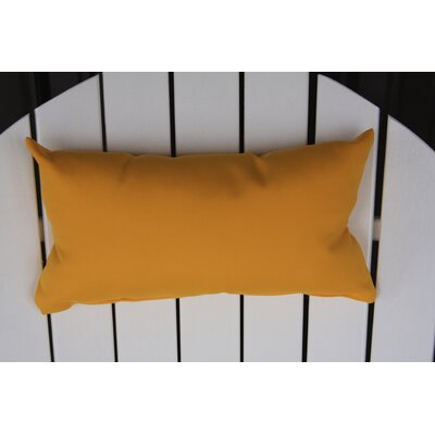Lamothe Rectangular Adirondack Chair Outdoor Lumbar Pillow Color: Yellow