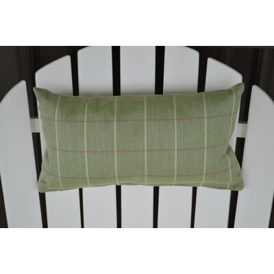 Lamothe Adirondack Chair Outdoor Lumbar Pillow Color: Green