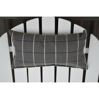 Lamothe Adirondack Chair Outdoor Lumbar Pillow Color: Gray