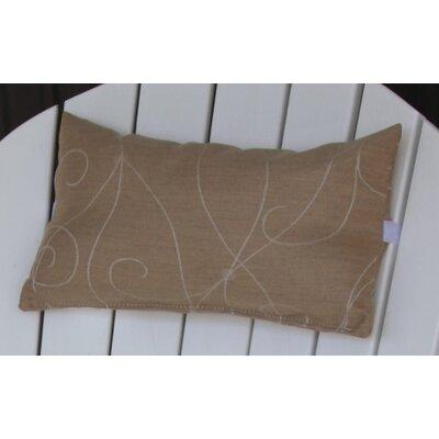 Lamothe Adirondack Chair Outdoor Lumbar Pillow with Velcro Strap Color: Tan