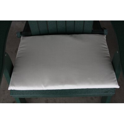 Outdoor Adirondack Chair Cushion Color: Gray