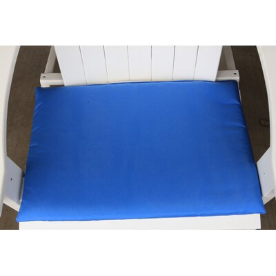 Outdoor Adirondack Chair Cushion Color: Light Blue