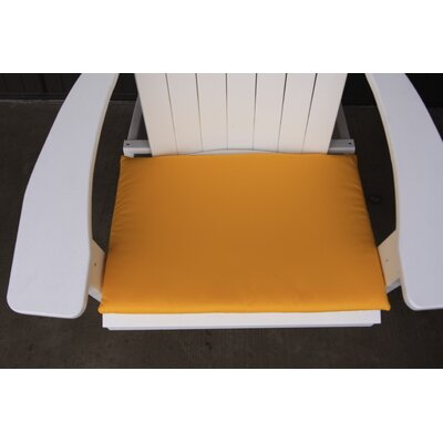 Outdoor Adirondack Chair Cushion Color: Yellow