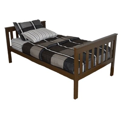 Mission Bed Size: Full Mission Bed, Bed Frame Color: Coffee