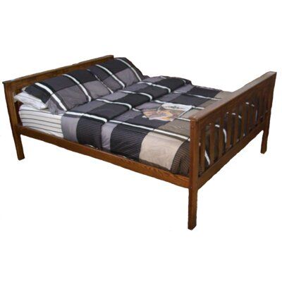 Mission Bed Size: Full Mission Bed, Bed Frame Color: Asbury