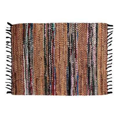 Broadway Hand-Woven Tan Area Rug