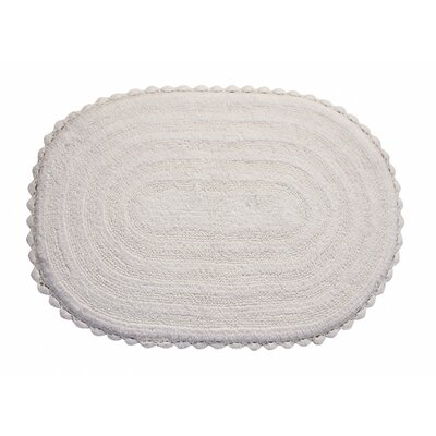 Elk Grove Bath Rug Color: White