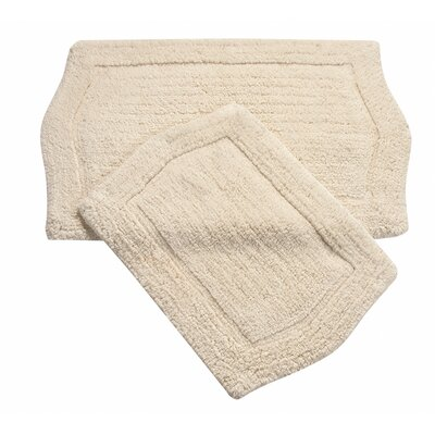 Waterford 2 Piece Bath Rug Set Color: Natural