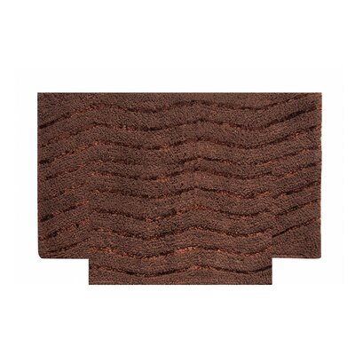 Artesia 2 Piece Bath Rug Set Color: Chocolate