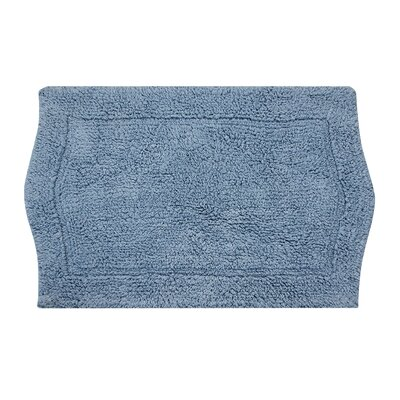 Waterford Bath Rug Color: Chocolate, Size: 17 W x 24 L