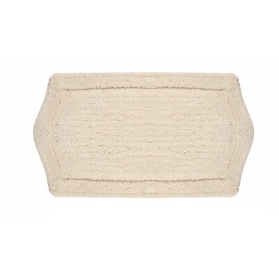 Waterford Bath Rug Size: 21 W x 34 L, Color: Natural