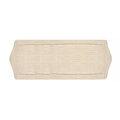 Waterford Bath Rug Size: 22 W x 60 L, Color: Natural