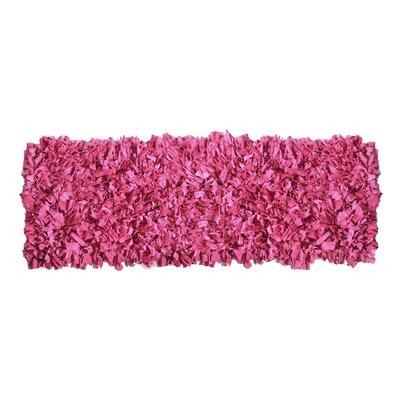 Kaylyn Shaggy Pink Area Rug Rug Size: Runner 2 x 6