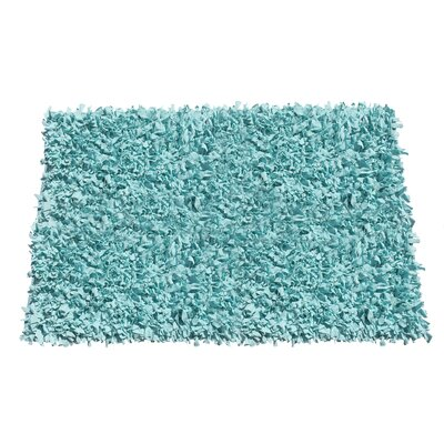 Kaylyn Shaggy Hand-Knotted Area Rug Rug Size: Rectangle 5 x 8